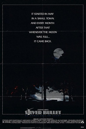 Films based on books : Silver Bullet is based on which Stephen King's book ?