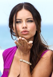 What mwaka did Adriana lima get her wings