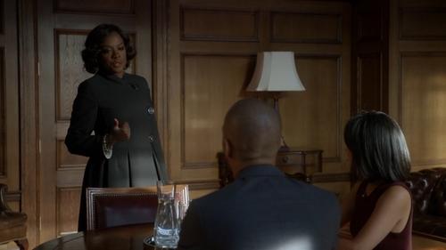 How does Annalise get to be the lawyer of the Hapstall sibilings?