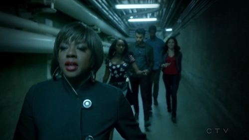 "Where does Annalise take them at the end of ""It's Time To verplaats On"" (2x01)?"