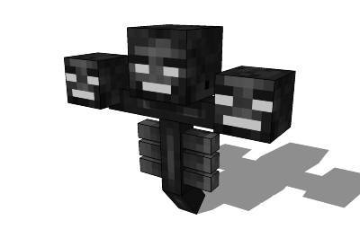 What does the Wither drop when it dies?