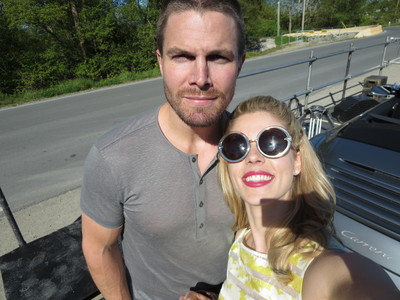 Which episode of panah were Stephen and Emily filming here?