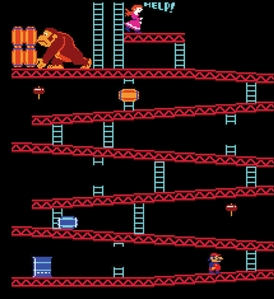 this arcade video game called? ....~