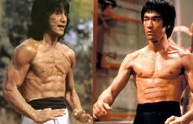 In which 2 Bruce Lee Films did Jackie Chan appear as a stunt man?