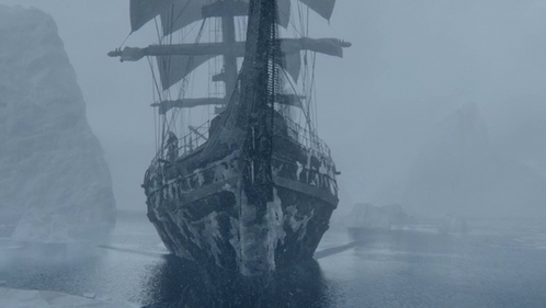 "Who travels in this ship at the end of ""And They Were Enemies"" (2x10)?"