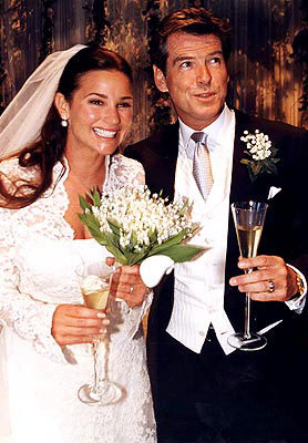 What Year Pierce Brosnan And Keely Shaye Smiths Wedding Took Place