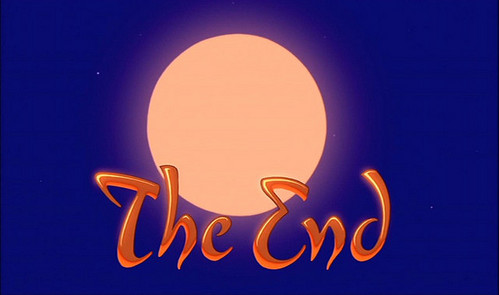 """Let's guess what movie's """"The End"""" is."""