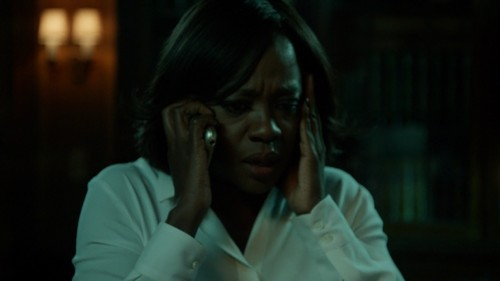 "Who called Annalise and forced her to change her plans in ""What Did We Do?""?"
