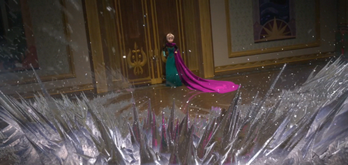 Which emotion causes Elsa to lose control?
