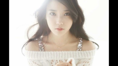 Who is IU's inspiration for writing her song Peach?