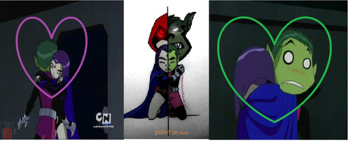 why does raven and beast boy make a beautiful couple?