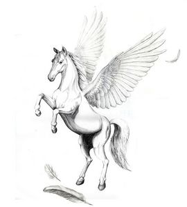 In Greek mythology, who was the brother of Pegasus?