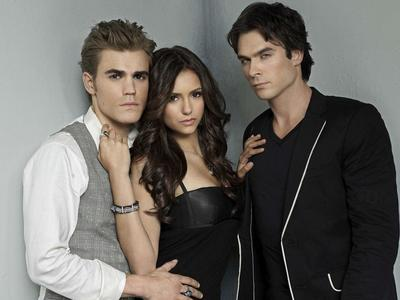 True or False: Paul Wesley and Ian Somerhalder are the ...