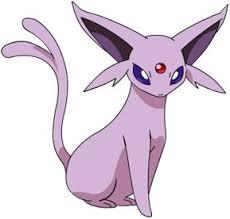 What colour is shiny Espeon?