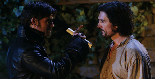 Who killed Hook's father?