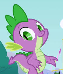 Who does Spike get letter from, and send letters to?