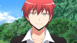 Who is Akabane Karma's voice actor? (Anime)