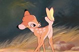How many words of dialogue were used in Bambi?