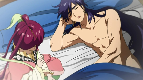 What did Sinbad do to Kougyoku that Alibaba thought was unforgivable?
