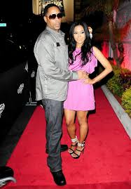Who was Lenny Nicholson to Amerie before they got married?