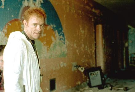 What was David Caruso's character's name in Session 9?