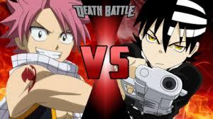 Who do you think would win in a fight between Death the Kid and Natsu Dragneel