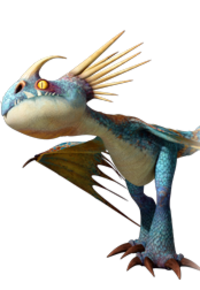 What is Astrid's dragon's name?