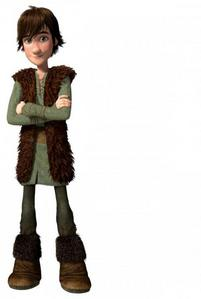 How old is Hiccup in the first movie?