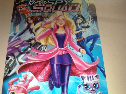 What were Barbie and her friend before after they became secret agents