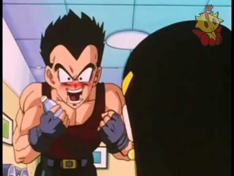 who noticed that vegeta shaved his moustache