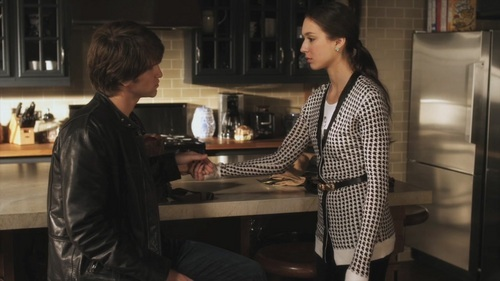 What did Spencer tell Toby when she met up with him at The Brew?