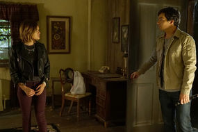When did Aria tell Ezra that A was back?