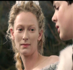 What is Jadis saying to Edmund here?