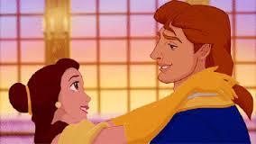 After Belle told him she loved him and broke the spell, who did Adam embrace first?