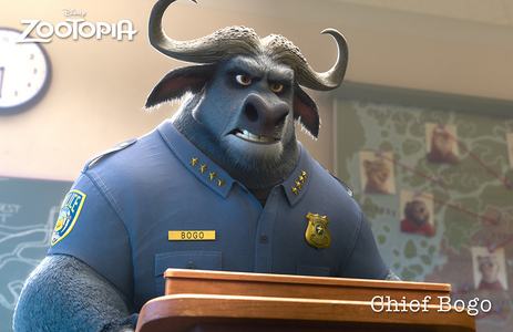 Who voiced Chief Bogo?