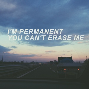 "Guess the song with these lyrics; ""Turns out that no one can replace me I'm permanent, toi can't erase me"""