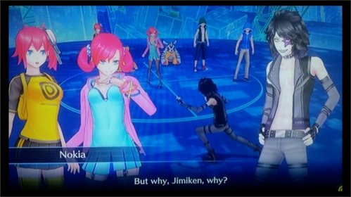 In Digimon Story Cyber Sleuth who is Jimiken?