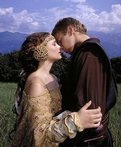 Anakin Skywalker: You are so... beautiful. Padmé: It's only because _____________.
