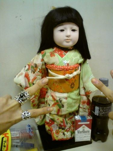 What is the name of Kiryu's mascot doll?