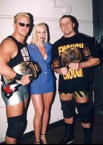 Debra watched the team she managed lose the WWF Tag Team Titles in 1999, who were the new champions?