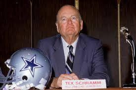 When was Tex Schramm inducted into the Cowboys Ring of Honor?