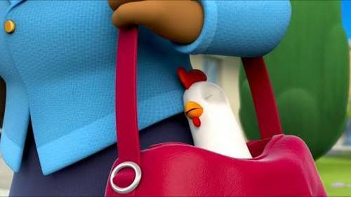 What's the name of Mayor Goodway's pocket chicken?
