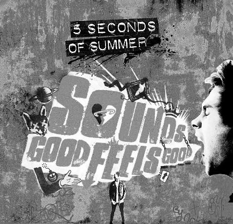 On the Luke Target Edition of Sounds Good Feels Good, what color is the album?