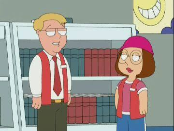 In 'Hell Comes to Quahog' When Meg gets employed by Superstore USA, what her boss's name?