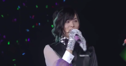 (Maji upendo Live 4th Stage) What was Aoi Shouta's position in the rehearsal?
