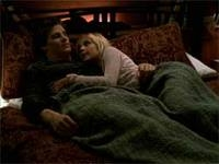 """When angel and Buffy were talking in """"Chosen,"""" what kind of comida did Buffy refer to herself as?"""