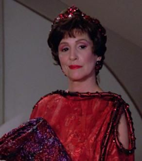 """""""I am Lwaxana Troi, daughter of the ____ House, holder of the Sacred Chalice of Rixx, heir to the Holy Rings of Betazed."""""""