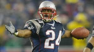On NFL Network's puncak, atas 10 New England Patriots, what number was Ty Law?