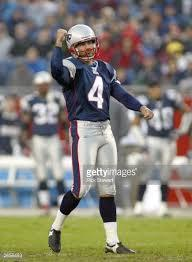 On NFL Network's 상단, 맨 위로 10 New England Patriots, what number is Adam Vinatieri?