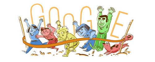 Google is celebrating : __th Anniversary of Health and Sports день (October 10, 2016)